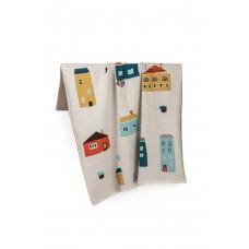 Fabliek detská deka domčeky
