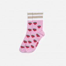Lillster dospelácke ponožky Strawberry Steve- Cali summer