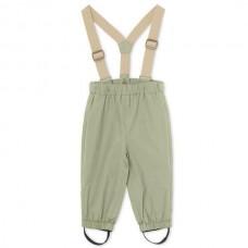 Mini A Ture Wilans nohavice do dažďa- Oil Green